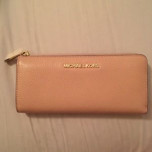 Michael Kors Bags - Michael Kors Three Quarter Zip Around Wallet